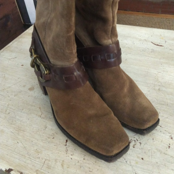 Jessica Simpson Shoes - Jessica Simpson Knee High Suede Boots